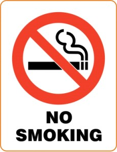 Current image pertaining to printable no smoking signs